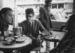 Paris Cafe Scene 1961