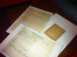 dahl reports and letters
