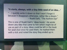 dahl story seed note